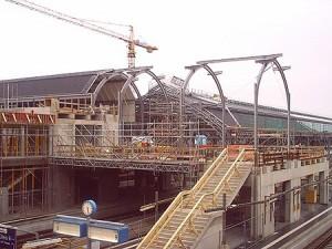 Ressourcenmanagement auf einer Großbaustelle